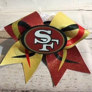 SF Cheer bow!